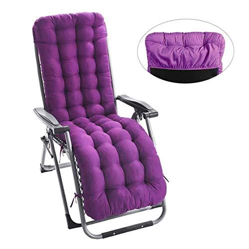 Lvhan Auflagen für Gartenliegen - Gartenstuhl Auflage,Liege Stuhl Polster Auflage Liegestuhl Stuhlkissen Anti-Rutsch für Sonnenliege 170 x53 x 8cm