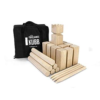 Yard Games Kubb Game Premium Set