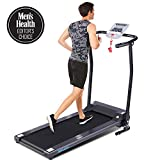 ANCHEER Treadmill, Electric Treadmills for Home with LCD Motorized Running Walking Jogging Exercise Fitness Machine Trainer Equipment for Home Gym Office (Black)