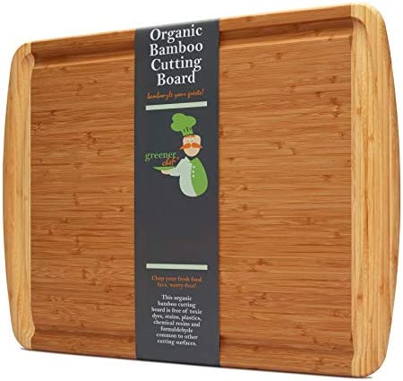 24 x 18 Inch XXL Extra Large Bamboo Cutting Board for Turkey Largest Commercial Kitchen Wood product image