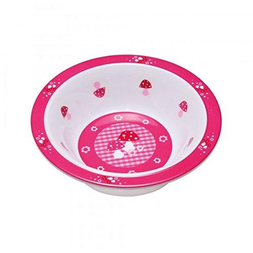 LASSIG kom kinderen baby kleinkind antislip vaatwasmachinebestendig melamine/kom Bowl roze