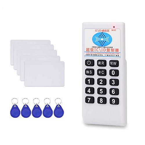 LUCINE Handheld 125KHz-13,56 MHz RFID-Frequenz Kopierer Reader Writer Personalausweis Cloner Programmer Wiederbeschreibbare Karten EM4305 / T5577 UID