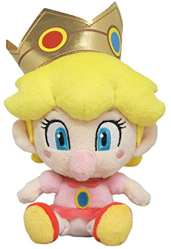 Sanei Boeki Super Mario All Star Collection Baby Peach (S) Plush Doll Toy (Japan)