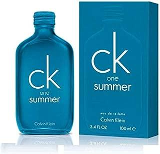 CK One Summer 2018 Eau De Toilette Spray 3.4 fl oz / 100 ml