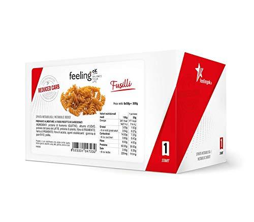 Feeling Ok Pasta Proteica Fusilli 6x50g.