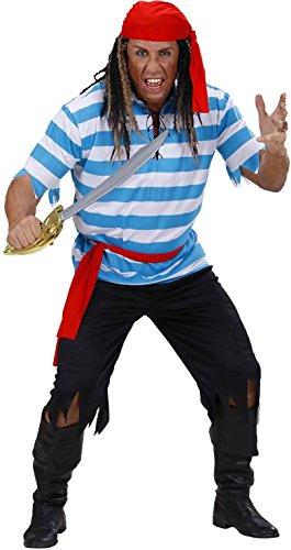 Widmann 74783 - Piraten uit het Caribisch kostuum, maat L