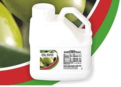bio A.L.T. Concime Liquido con Azoto Fosforo e Potassio Specifico Fertilizzante per Olivo Migliora la Crescita delle Colture in Giardino e per Piante in Appartamento o in Esterno e in Vaso (3 Litri)