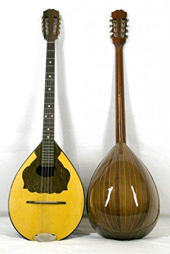 Musikalia Griechische Bouzouki Mansonia Walnuss-Geigenbauer elektrifiziert, in, Resonanzboden perfilata und Intarsien
