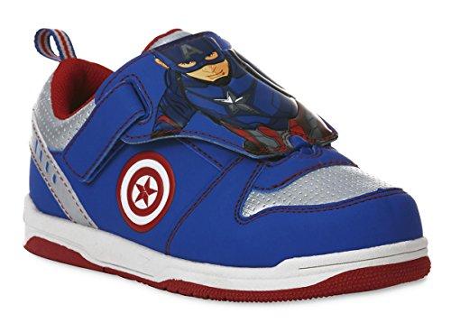 Captain America Civil War Marvel Sneakers Schuhe Kleinkind & Jungen Größen (Kleinkind 10)