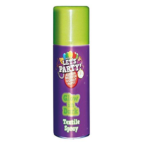 Smiffy's 21759 - Im Dunkeln leuchtendes Spray 125 ml, mehrfarbig