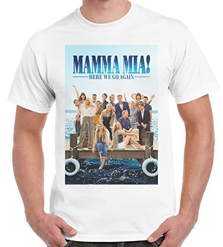 Mcp Fashion Mamma Mia Here We Go Again, Cooler Spruch, Slogan, lustiges Design, Geschenkidee