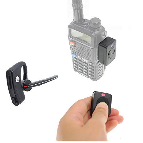 Fumei Walkie Talkie Bluetooth Headset Wireless Adapter Wireless Finger PTT Key