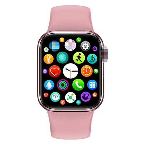 2021 New Smart Watch M16 Plus SmartWatch Impermeable 44mm IWO Series 6 BT Llamada Custom Wallpaper Fitness para iOS Android Hombres Mujeres,C