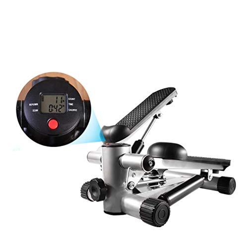 outer treasure Mini máquina de ejercicios de fitness paso a paso aeróbico, mini bicicleta de ejercicio en interiores, entrenamiento de ejercicio cardiovascular y bicicleta de ejercicio para piernas