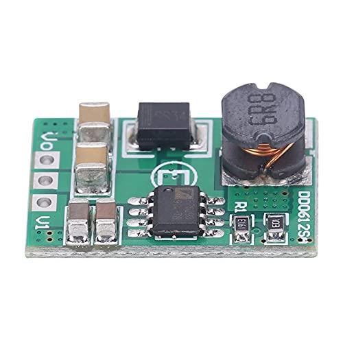 Voltaje Buck Convert Módulo de Fuente de Alimentación Convertidor MCU Placa de Desarrollo DD0612SA DC-DC para Cargador de Teléfono MCU(5V)