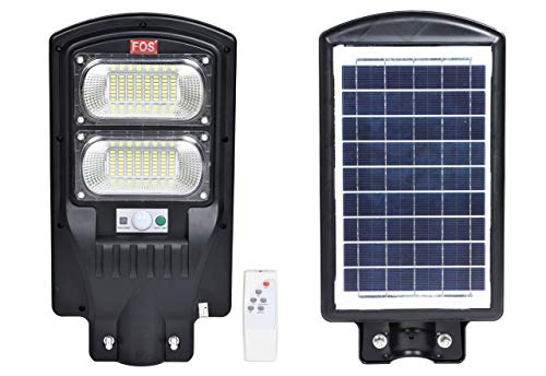 FOS 40W IP65 Water-Proof Solar LED Street Light with Remote Control and Programmable Motion Sensor -...