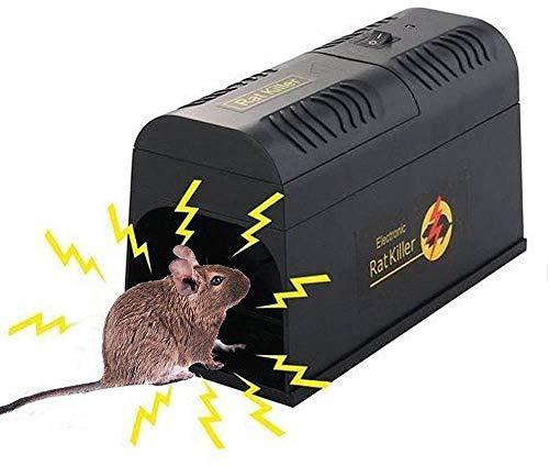 LEIPING Trappola per Topi Elettronica, Trappola Elettronica del Mouse, Modo Sicuro per catturare i Topi, Piccoli scoiattoli e Altri roditori Simili