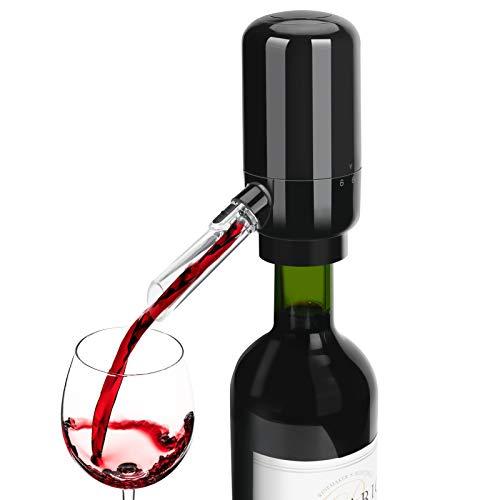 Aceshop Aireador Eléctrico para Vino Portátil