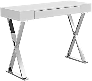 Modway Sector Console Table, White