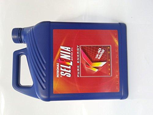Aceite de Motor para Coche Petronas Selenia K Pure Energy, lata de 5 litros