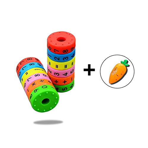 Bobury Magnética aprendizaje matemáticas Cilindro