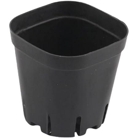 moonwood 植木鉢 植栽ポット 50個 苗ポット サボテンポット 植栽コンテナ プラスチック製 (XS)