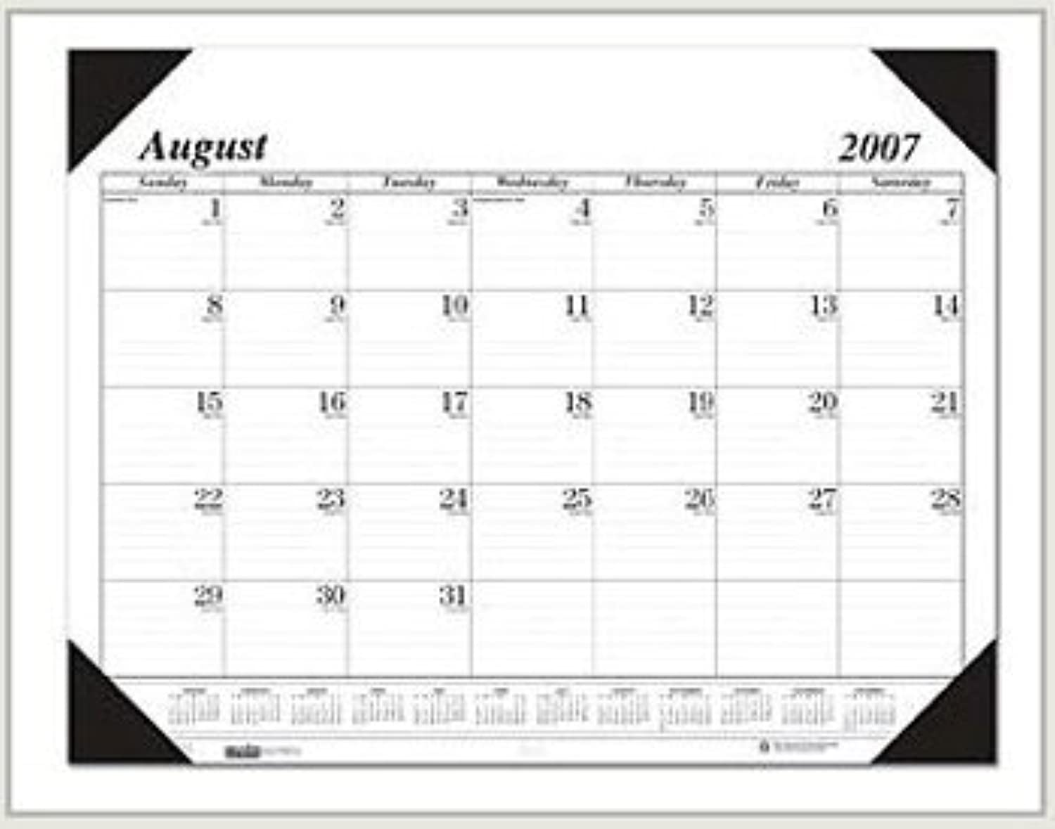 Academic Economy Desk Pad 17-Month by House of Doolittle