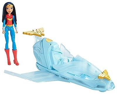 Mattel DC Super Hero Girls Wonder Woman Doll & Invisible Jet