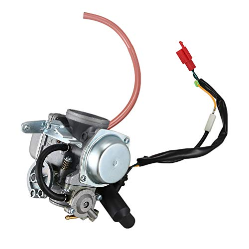 Facibom Carburador PD30J de 30 Mm para 250Cc Scooter de RefrigeracióN por Agua ATV Quad 172MM CF250 CH250 CN250 Helix Qlink Commuter 250 Roketa MC 54-250B