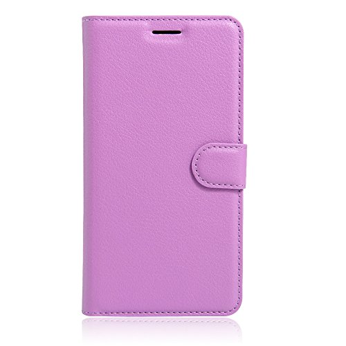 UMI Rome X Case, Mixneer Fashion Wallet Folio Sleeve Magnetic PU Flip Leather Holder Stand Soft TPU Inner Bumper Protective Case Cover for UMI Rome X - Purple