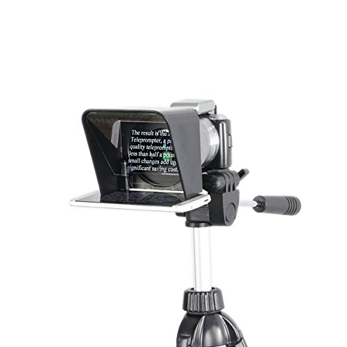 The Padcaster Parrot Teleprompter Kit, Portable Teleprompter for iPhone