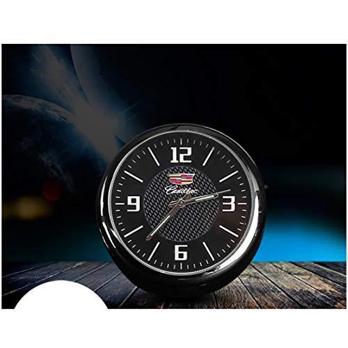 LAUTO La decoración Interior del Coche,Reloj del Coche,Reloj Decorativo para Salida de Aire del Aire Acondicionado del automóvil,Adecuado para Cadillac Kia Land Rover LC Mazda MKC U5 Suzuki,etc,Ct6