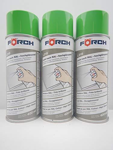 Farbe GELBGRÜN GELB GRÜN RAL 6018 Lack LACKSPRAY Spray SPRAYDOSE 400ML (3)