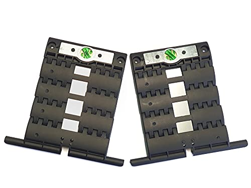 SecuBlock - Protector antirrobo para persianas (2 unidades, sistema de seguridad de elevación rápida), 3-gliedrig, 1000