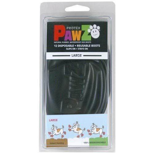 PAWZ DOG 0897515001147 Schwarze Hundestiefel