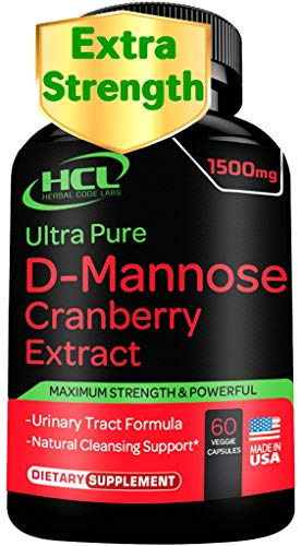 D-Mannose with Cranberry Extract Ca…