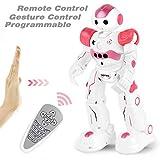 GotechoD Jouet Robot télécommandé pour Enfant, Intelligent Robot programmable...