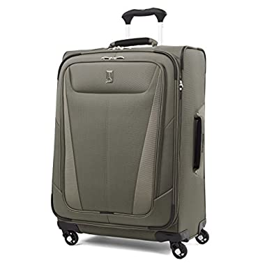 Travelpro Luggage Maxlite 5 25  Lightweight Expandable Spinner Suitcase, Slate Green