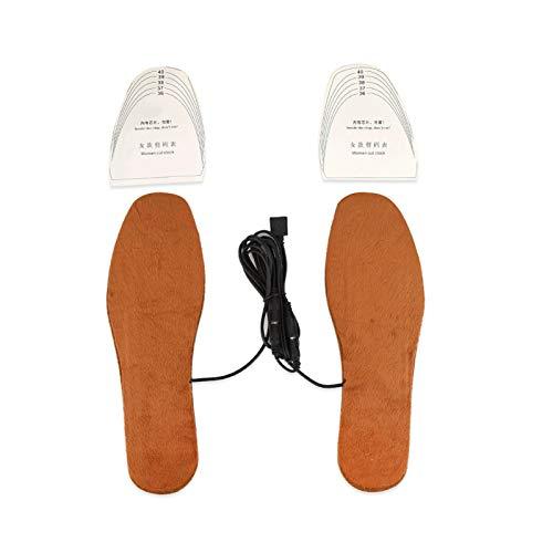 Calefacción por USB de forma rápida y uniforme Uso reciclado Calefacción Calefacción para zapatos Cojín para trabajadores informáticos en inviernos fríos para(red, Women's)