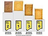 Carenesse® original Aleppo Seifen SIEGER Paket 4 x 200 g. Ausgezeichnete TOP Platzierungen mit Lorbeerölanteilen 5% 15% 20% 40% Olivenölseife Haarseife Naturseife Duschseife Traditionelle Handarbeit - 9