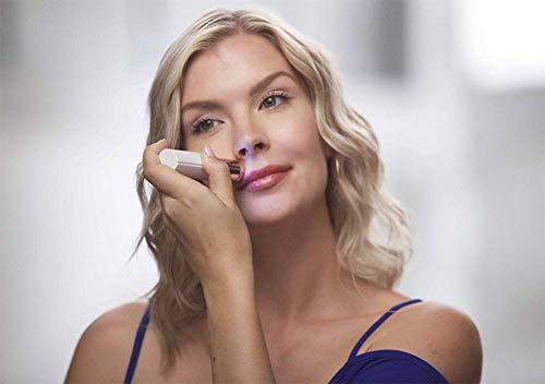 Depiladora Mujer Facial Depiladora de Vello Eléctricas afeitadora sin dolor Removedor de la Maquinilla con Luz Led Incorporada Recortadora para Mejillas Labios Barbilla y Cuello