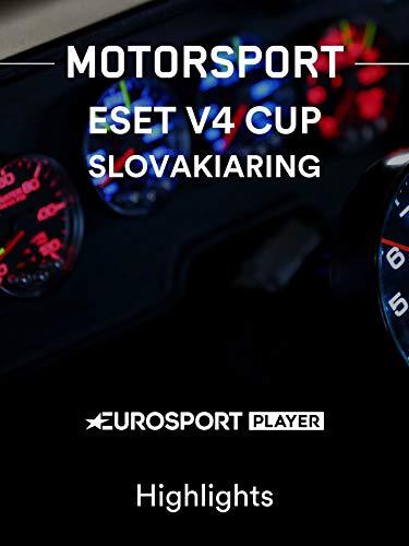 Motorsport: Eset V4 Cup am Slovakiaring - Highlights
