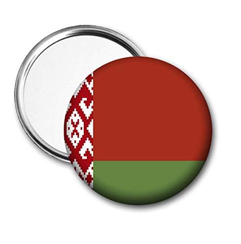 Wit-Rusland Vlag Pocket Spiegel voor Handtas - Handtas - Gift - Verjaardag - Kerstmis - Stocking Filler - Secret Santa