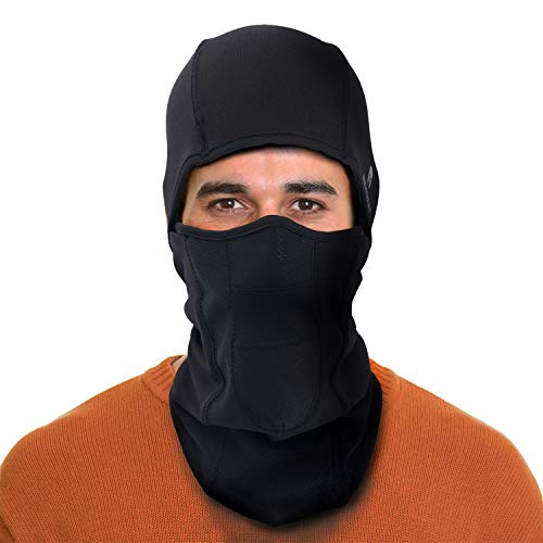 ARMORAY Balaclava Ski Mask  Winter Face Mask for Men amp Women  Cold Weather Gear for Skiing Snowboarding amp Motorcycle Riding Black