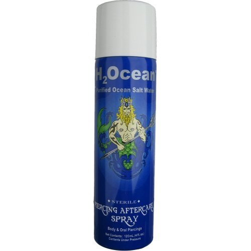 Body Candy H2Ocean - Körper Piercing Nachbehandlung SPRAY 4oz