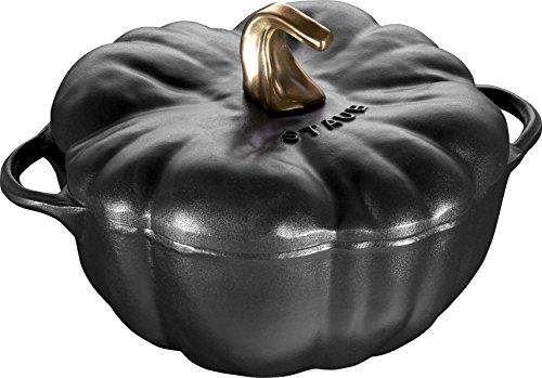 Caçarola Pumpkin Staub Preto Médio