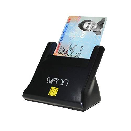 Sveon SCT022 - Elektronisches Lesegerät für den Personalausweis, Chipkartenleser