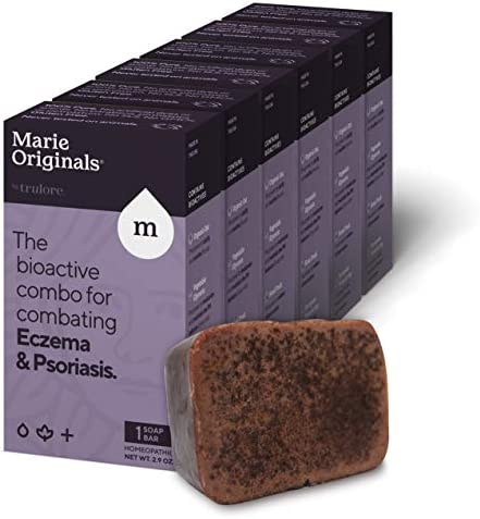 Marie s Original Eczema Face Soap Body Wash Bar All Natural Psoriasis Dermatitis Treatment for product image