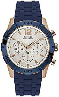 Guess Men's Casual Chronograph Watch, W0864G5 - Blue