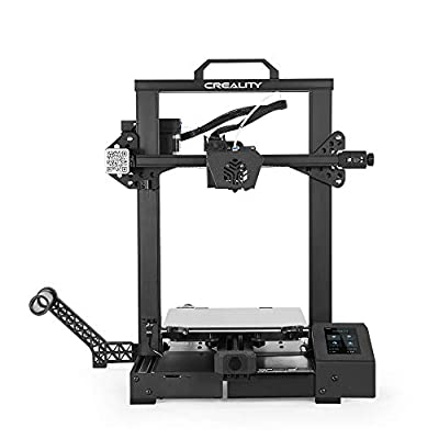 Creality CR-6 SE 3D Printer with Inventive Bed Leveling Tech Adopts FDM Molding Technology Modular Nozzle Design,Equipped with Dual Z Axis and Timing Belt 235 x 235 x 250mm Print Size
